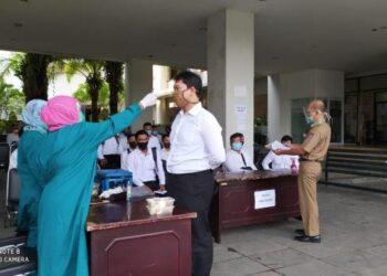 Seleksi CPNS di Kota Padang.