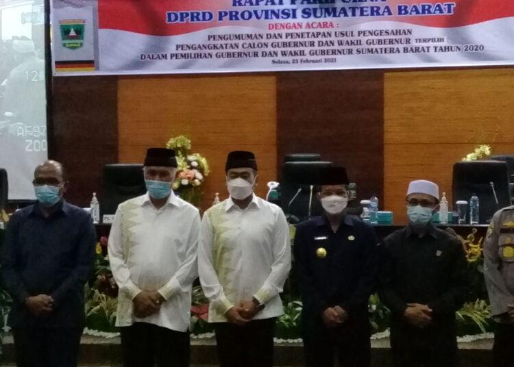DPRD Sumbar Minta Gubernur Terpilih Selaraskan Visi Misi dengan RPJMD