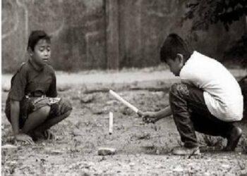 Sejarah lahirnya permainan tradisonla minang