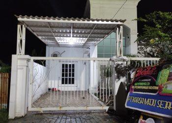 Lokasi perampokan dan pembunuhan di Kuranji, Kota Padang (Ocky A.M)